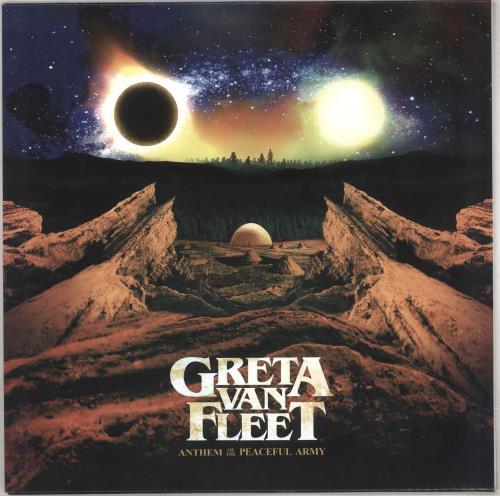 Greta Van Fleet Anthem Of The Peaceful vinyl LP album (LP record) Dutch Q3LLPAN741413