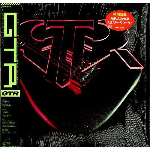 GTR GTR + Poster vinyl LP album (LP record) Japanese GAALPGT421600