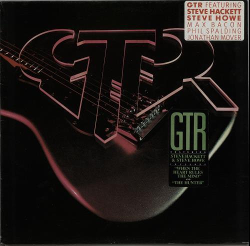 GTR GTR - Double Stickered vinyl LP album (LP record) German GAALPGT588906