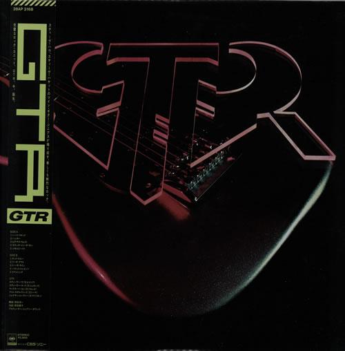 GTR GTR vinyl LP album (LP record) Japanese GAALPGT309799