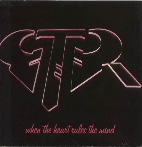 """GTR When The Heart Rules The Mind 7"""" vinyl single (7 inch record) UK GAA07WH745794"""
