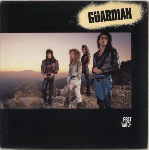 Guardian First Watch vinyl LP album (LP record) Dutch Q9GLPFI709716