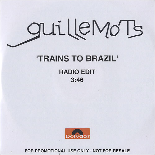 Guillemots Train To Brazil CD-R acetate UK GBQCRTR438368