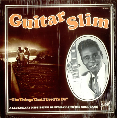 Guitar Slim The Things I Used To Do vinyl LP album (LP record) US GUJLPTH534118