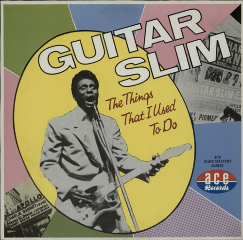 Guitar Slim The Things I Used To Do vinyl LP album (LP record) UK GUJLPTH599544