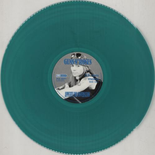 Guns N Roses Appetite For Conversation - Green Vinyl vinyl LP album (LP record) UK GNRLPAP752691