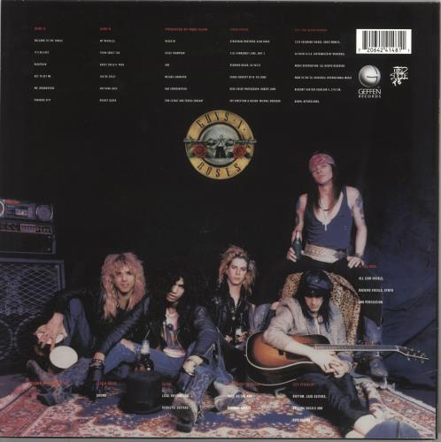 Guns N Roses Appetite For Destruction - 180gm Vinyl vinyl LP album (LP record) UK GNRLPAP734798