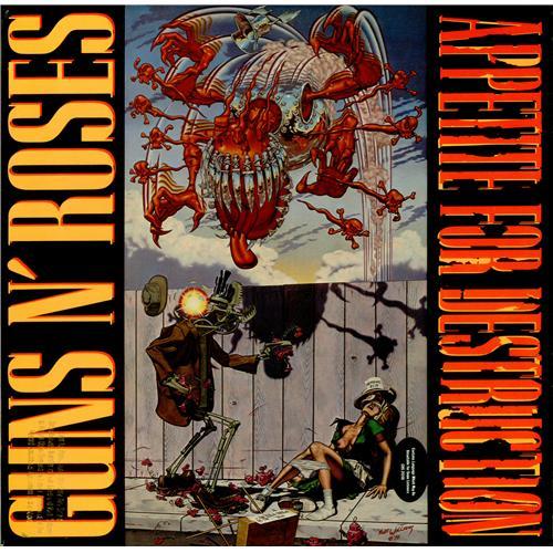 Guns N Roses Appetite For Destruction Promo Banned