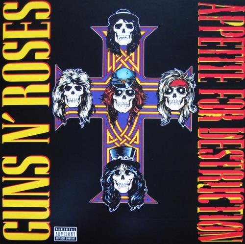 Guns N Roses Appetite For Destruction - Sealed vinyl LP album (LP record) UK GNRLPAP677294