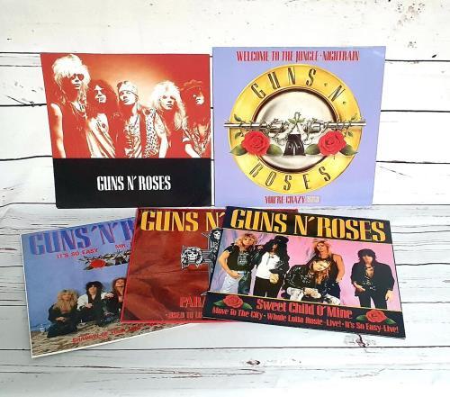 Guns N Roses Appetite For Destruction - Singles Box Set