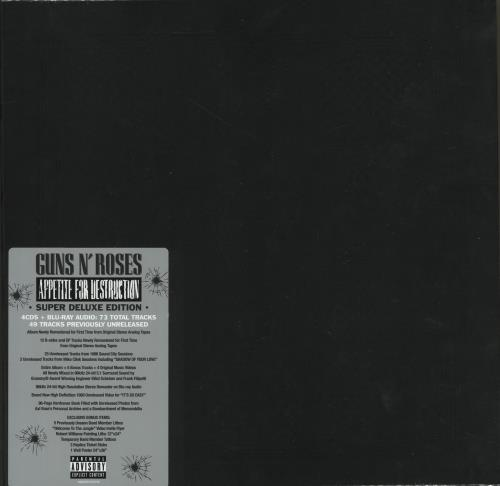 Guns N Roses Appetite For Destruction - Super Deluxe Edition box set UK GNRBXAP704264