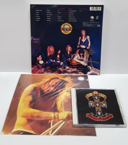 Guns N Roses Appetite For Destruction CD album (CDLP) Japanese GNRCDAP416499