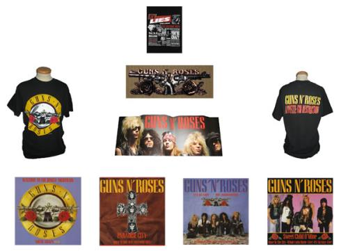Guns N Roses Appetite For Destruction Swedish box set (420872)