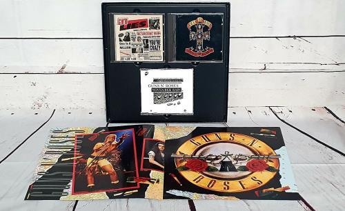 Guns N Roses Destruction, Lies: The Road To Illusion CD Album Box Set German GNRDXDE753419