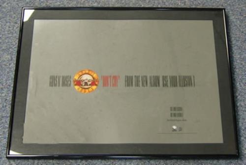 Guns N Roses Don't Cry - Framed Advert Proof artwork US GNRARDO383638
