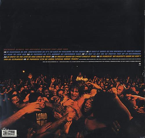 Guns N Roses Live Era '87-'93 - sealed 4-LP vinyl album set (4 records) US GNR4LLI369857