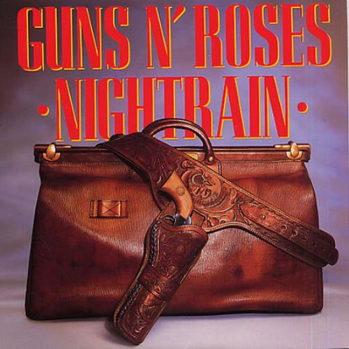 "Guns N Roses Nightrain + Sleeve 7"" vinyl single (7 inch record) UK GNR07NI40472"