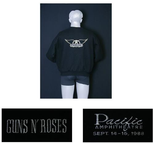 Guns N Roses Pacific Amphitheatre Sept 14-15, 1988 jacket US GNRJAPA521934