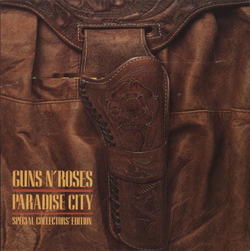 "Guns N Roses Paradise City - EX 7"" vinyl single (7 inch record) UK GNR07PA520997"