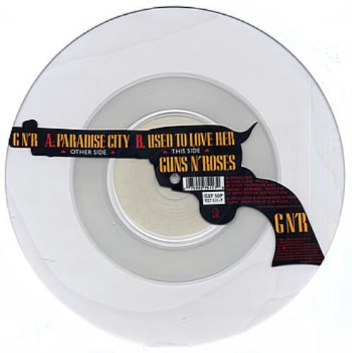 Guns N Roses Paradise City - Uncut uncut picture disc (vinyl) UK GNRUNPA25529