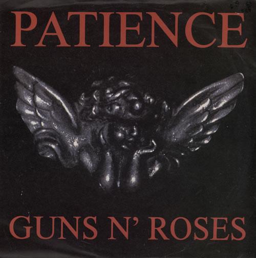 "Guns N Roses Patience 7"" vinyl single (7 inch record) UK GNR07PA103022"