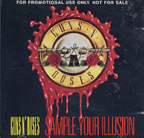 Guns N Roses Sample Your Illusion CD album (CDLP) UK GNRCDSA08306