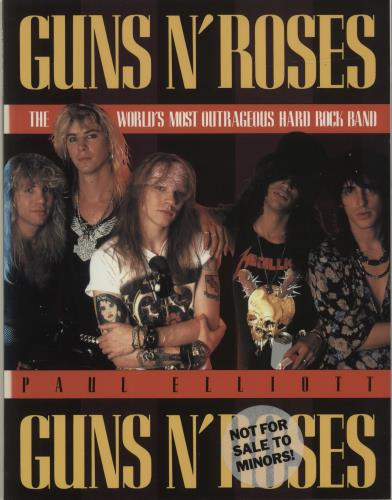 Guns N Roses The World's Most Outrageous Hard Rock Band book UK GNRBKTH209779