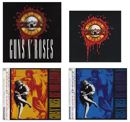 Guns N Roses Use Your Illusion I + II CD Album Box Set Japanese GNRDXUS393261