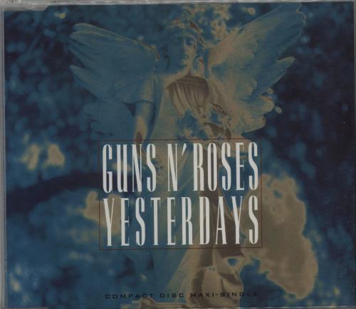"""Guns N Roses Yesterdays CD single (CD5 / 5"""") UK GNRC5YE17877"""