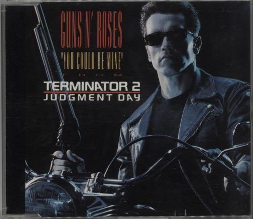 "Guns N Roses You Could Be Mine CD single (CD5 / 5"") German GNRC5YO284482"