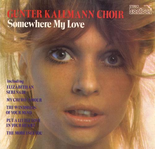 Gunter Kallmann Somewhere My Love vinyl LP album (LP record) UK GUKLPSO553566