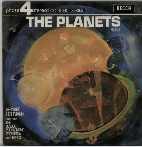 Gustav Holst The Planets (Suite For Large Orchestra) vinyl LP album (LP record) UK GSVLPTH643181