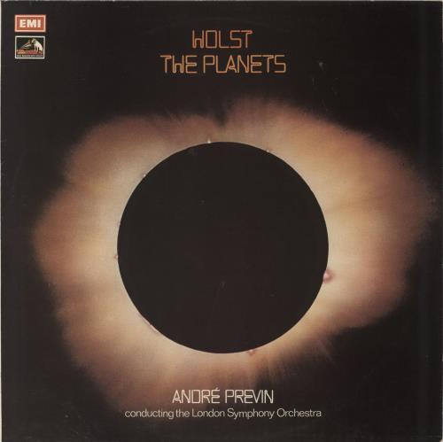 Gustav Holst The Planets - Dutch Contract vinyl LP album (LP record) UK GSVLPTH655175
