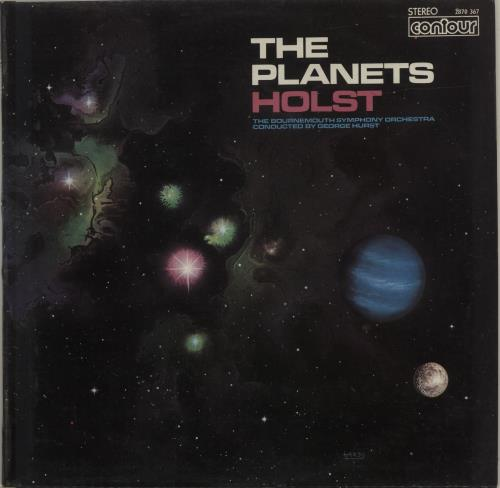 Gustav Holst The Planets vinyl LP album (LP record) UK GSVLPTH595197