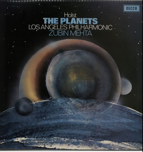 Gustav Holst The Planets vinyl LP album (LP record) UK GSVLPTH636960