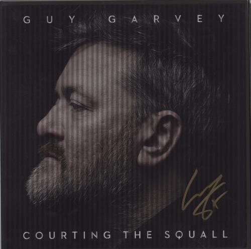 Guy Garvey Courting The Squall - Autographed vinyl LP album (LP record) UK IU-LPCO722152
