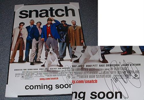 Guy Ritchie Snatch poster US G.YPOSN224729