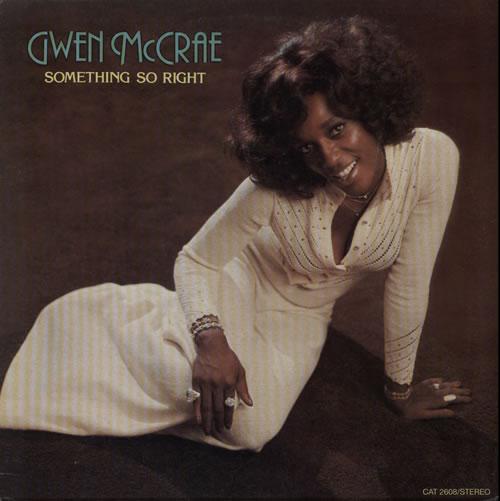 Gwen McCrae Something So Right vinyl LP album (LP record) US GW0LPSO561819