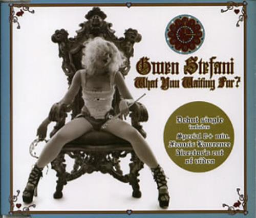 562c3e3256adf GWEN STEFANI What You Waiting For  (2004 Australian issue 4-track enhanced  CD single featuring Jacques Lu Cont s TWD Mix   Dub Version plus 8 minute    ...