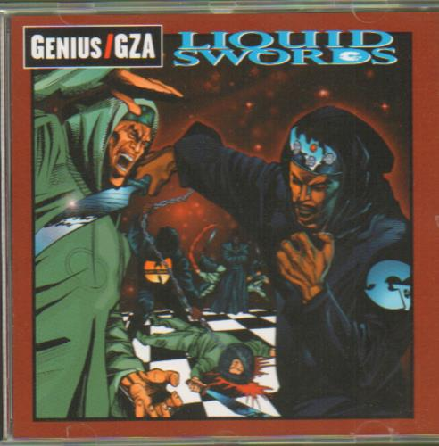 GZA Liquid Swords CD album (CDLP) UK GZBCDLI657882