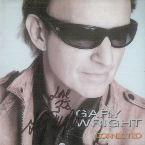 Gary Wright Connected - Autographed CD album (CDLP) US GRWCDCO531263