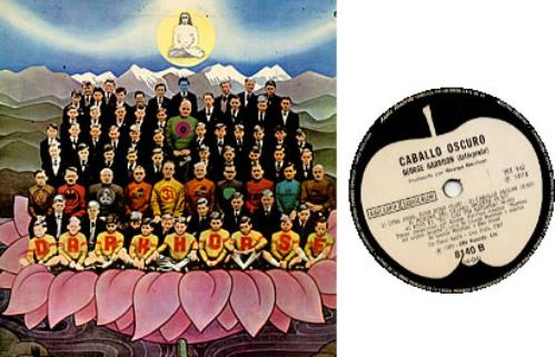 George Harrison Caballo Oscuro vinyl LP album (LP record) Argentinean GHALPCA241899