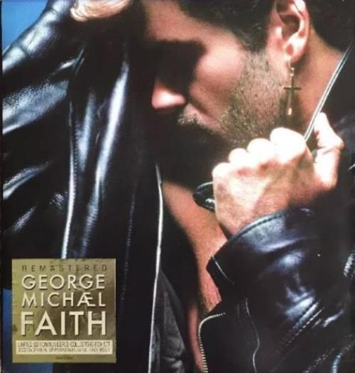 George Michael Faith 3-disc CD/DVD Set UK GEO3DFA516964