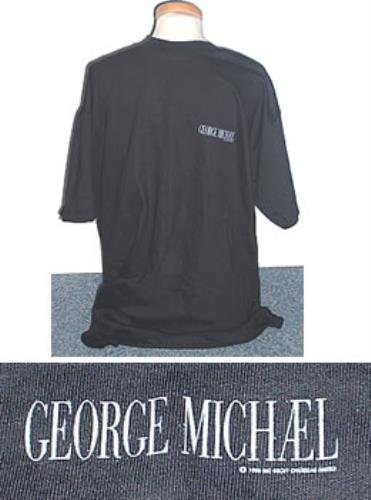 George Michael Listen Without Prejudice t-shirt US GEOTSLI286050