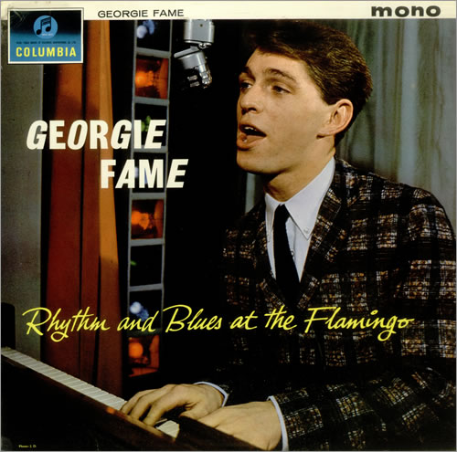 Georgie Fame Rhythm And Blues At The Flamingo - Factory Sample vinyl LP album (LP record) UK GFMLPRH449501