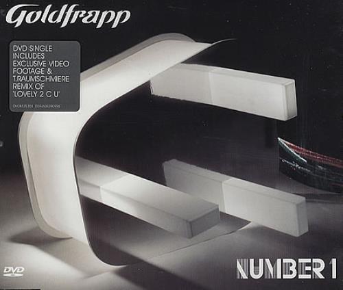 Goldfrapp Number 1 DVD Single UK FPPDSNU340225