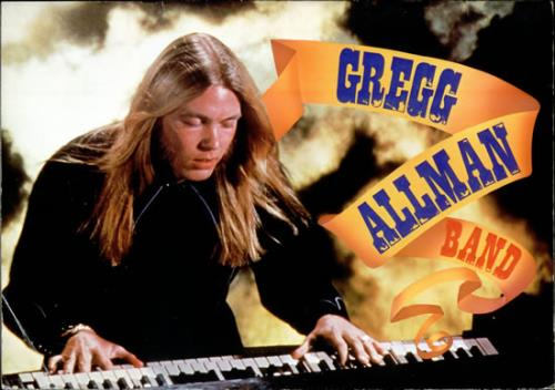 Gregg Allman Live In Japan 1977 tour programme Japanese GGATRLI507252