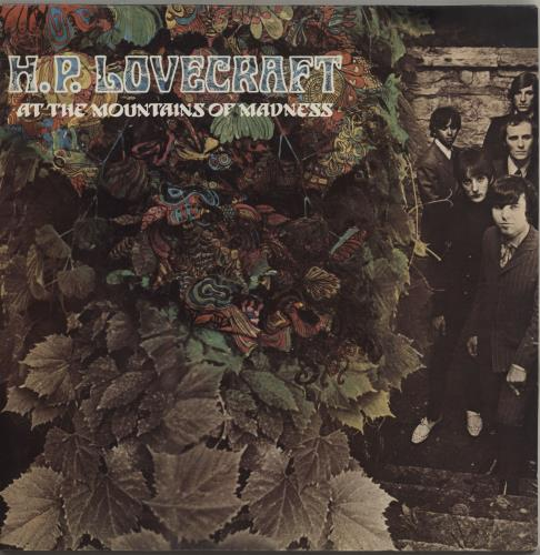 H.P. Lovecraft At The Mountains Of Madness 2-LP vinyl record set (Double Album) UK HPL2LAT342308