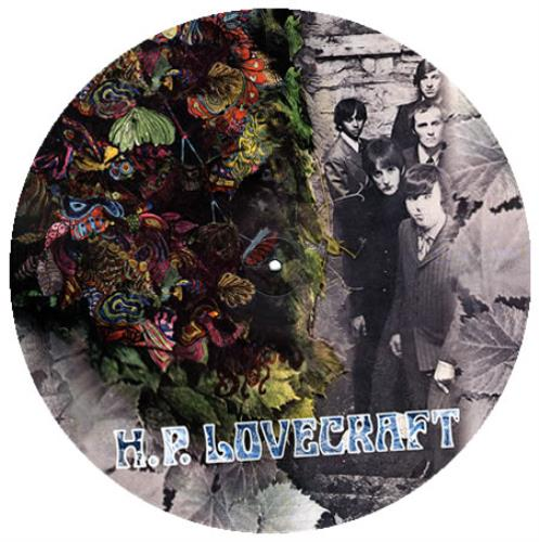 H.P. Lovecraft H.P. Lovecraft picture disc LP (vinyl picture disc album) UK HPLPDHP375583