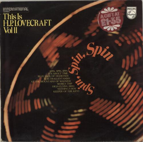 H.P. Lovecraft This Is H.P.Lovecraft Vol II: Spin, Spin, Spin vinyl LP album (LP record) UK HPLLPTH315218